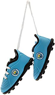Manchester City FC Mini Football Boots Car Hanger