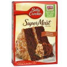 Amazon Com Betty Crocker Supermoist German Chocolate Cake Mix With
