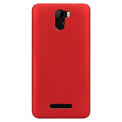 BLU VIVO 8L (5.3) Case, ZLDECO Ultra Slim Shock Proof Matte Hard Skin Case Cover Protect for Blu Vivo 8L Smartphone (Red)