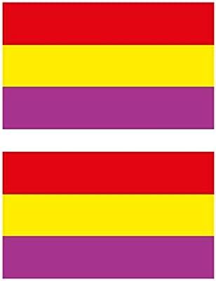 Custom Vinyl Bandera de España Civil 2 nd República Española 3