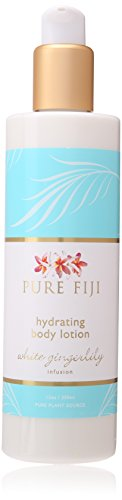 Pure Fiji Hydrating Body Lotion, White Gingerlily, 12.0 Ounce