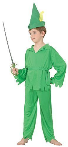 Bristol Novelty CC515 Traje Peter Pan Robin Hood, Mediano ...