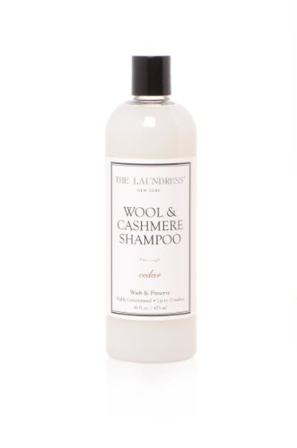 - The Laundress - Wool & Cashmere Shampoo, Cedar, Allergen-Free, Adds Scent & Removes Odor, 16 fl oz, 32 washes