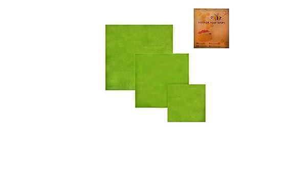 FiedFikt - Paquete de 3 Paquetes de envolturas de Cera de ...