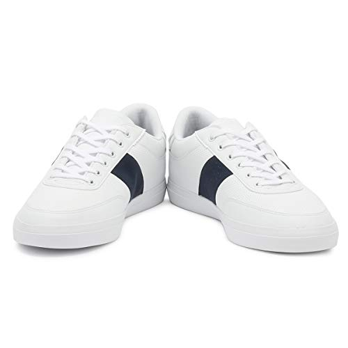 Blanc Master Htrqdcs Homme Baskets Lacoste Court Chaussures TXZiwPkOu