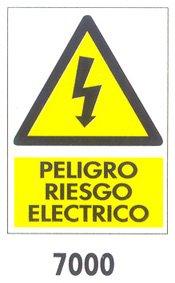Wurko 7000 Cartel Peligro Riesgo Eléctrico: Amazon.es ...
