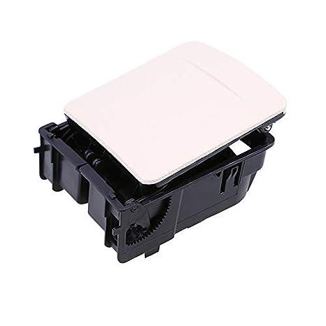 Amazon.com: elegantstunning Auto Central Console Armrest Rear Cup Holder Seat Gap Cup/Mobile Phone Holder Storage Pocket Box Black For VW Jetta MK5 MK6, ...