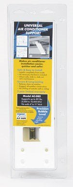 AC Safe AC-080 Universal Light-Duty Air Conditioner Support Bracket, Upto 80 Pounds