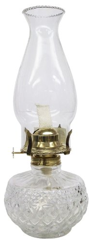 Glass Kerosene Oil Lamp - 5