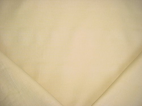 137RT11 - Soft Yellow / Straw Southwest Brushed Cotton Designer Upholstery Drapery Fabric - By the (Brushed Cotton Upholstery)