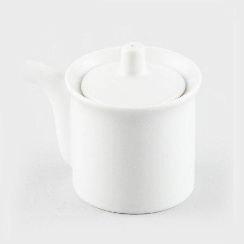 White Porcelain Soy Sauce Dispenser 6 oz