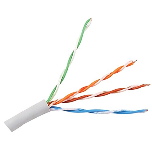 Monster Cable CP CAT5E-CL EZ1000 1000ft CAT-5E Cable 4 Solid Copper Twisted Pair Electronics Computers Accessories