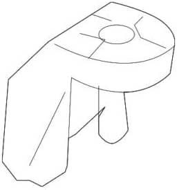 Genuine Bracket MERCEDES R171 1715040540