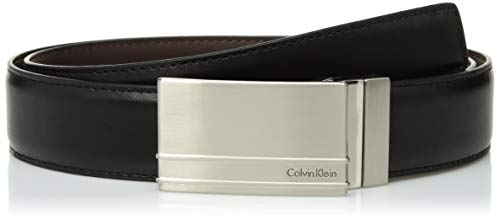 - Calvin Klein Men's 32MM REVERSIBLE W/ STITCHED F.EDGE Accessory, -black/brown, 34