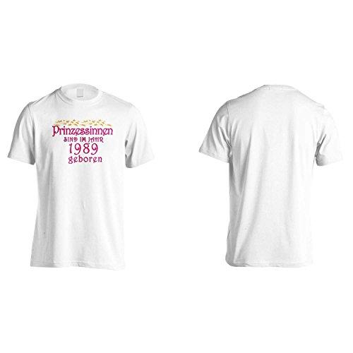 Prinzessinnen sind im jahr 1989 geboren Herren T-Shirt cc15m