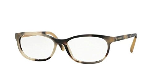 Burberry Eyeglasses BE2180 3501 Light Horn 52 16 - Warranty Burberry