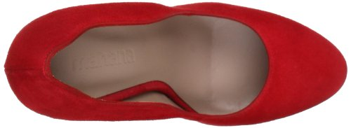 Manana mn 5017 Damen Pumps Rot (Red)