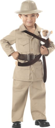 Zoo Keeper - Boy Child Costume Size 4-6 -