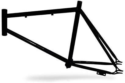 Riscko 001s Cuadro Bicicleta Personalizada Fixie Talla S Negro: Amazon.es: Deportes y aire libre