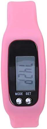 Sports Fitness Watch Smart Bracelet Watch Wristband Calorie Counter Pedometer Step Counter(Pink)