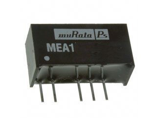 5 Leads s - 25 Item MURATA POWER SOLUTIONS MEA1D0512SC MEA1 Series 1 W -12//12 Vout 42 mA Isolated Dual DC//DC Converter-SIP-7