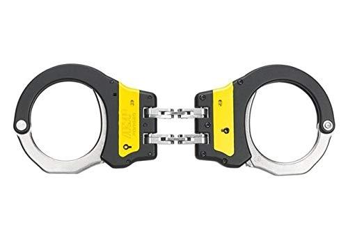 (Asp Law Enforcement Identifier Hinge Ultra Cuffs Yellow ASP Identifier Hinge Ultra Cuffs Yellow, 56014)