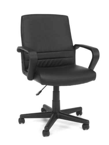 Essentials Mid-Back Executive Chair - Comfortable Conference and Computer Chair (E1008) by OFM