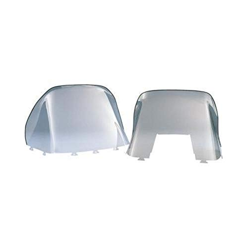Kimpex Polycarbonate Windshield - Standard - 15in. - Smoke 06-144