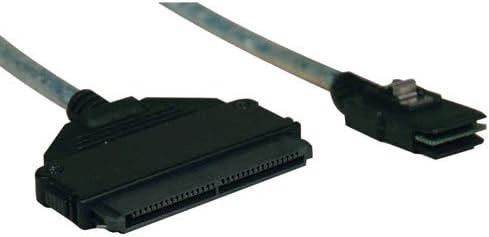 mini-SAS SFF-8087 to 4-in-1 32pin S510-18N SFF-8484 0.5M 18-in. Tripp Lite Internal SAS Cable