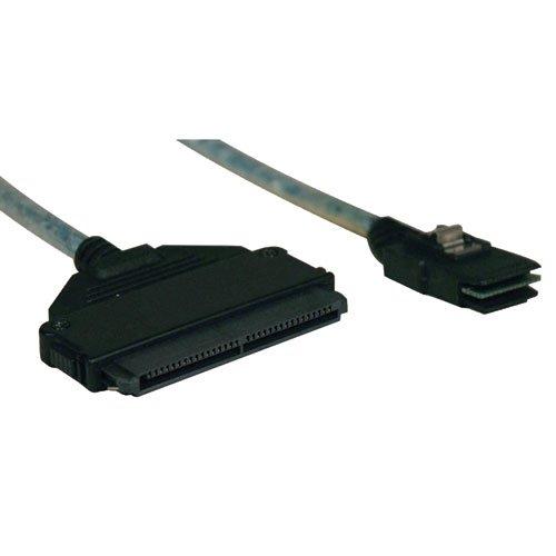 Tripp Lite Internal SAS Cable,  mini-SAS (SFF-8087) to 4-in-1 32pin (SFF-8484), 18-in. (0.5M)(S510-18N)