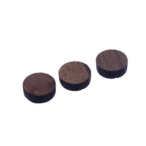 100pcs Rosewood 6*2MM Guitar Bass Fretboard Inlay Material Dots Markers For Guitar Ukulele OUD Banjor Mandolin Neck