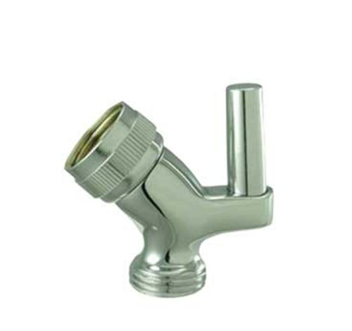 Whitehaus WH179A8-BN Showerhaus Brass Swivel Hand Spray Connector for Use with Mount Model Number Brushed Nickel