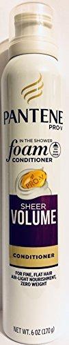 Pantene Pro-V Haircare - Foam Conditioner - Sheer Volume - Net Wt. 6 OZ (170 g) Per Can - One (1) (Pantene Sheer Volume)