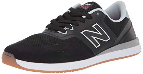 New Balance Men's 420, Black/White 1, 10 D US