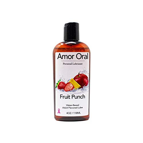 Fruit Punch Flavored Lube - Edible Personal Lubricant