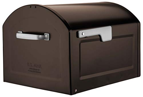 - Architectural Mailboxes 950020RZ Centennial Post Mount Mailbox, XL, Rubbed Bronze