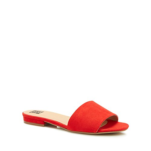 Debenhams The Collection Womens Red 'Clide' Mule Sliders gAZT7Ryb