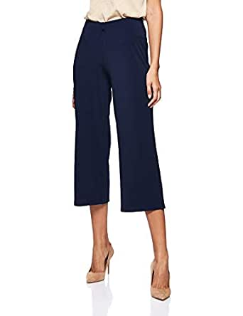 OVS Women's 191TRO287-71 Trousers, Blue (Navy Blue 3343), Size: Large