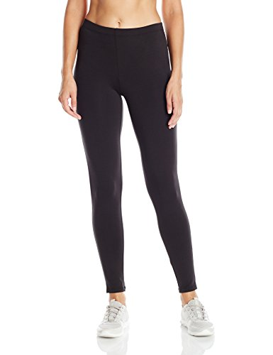 Hanes Women's Stretch Jersey Leggings Black L