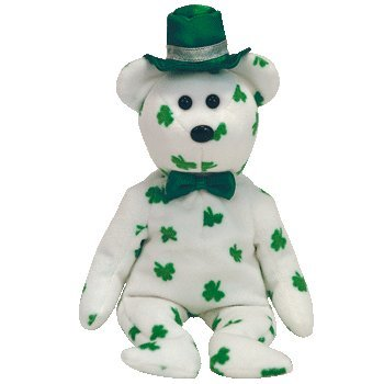 3aa4d5c840a Image Unavailable. Image not available for. Color  Ty Beanie Babies  O Fortune - Irish Bear