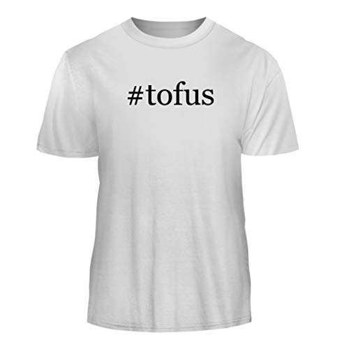 Tracy Gifts #Tofus - Hashtag Nice Men's Short Sleeve T-Shirt, White, Medium