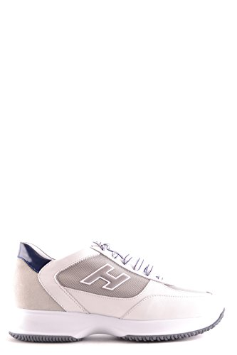 Hogan Sneakers Uomo Mcbi148409o Pelle Bianco