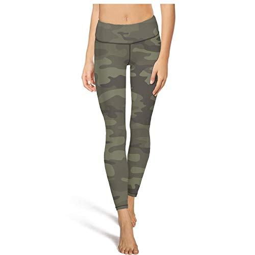 Army Camo Camouflage Military Leggins High Waisted Yoga Pants Workout Dance Tights Legging Gym Anti-Wrinkle