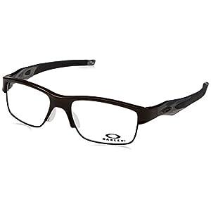 Oakley OX3128-02 Crosslink Switch Eyeglasses-Pewter/Gray Smoke/Black-53mm