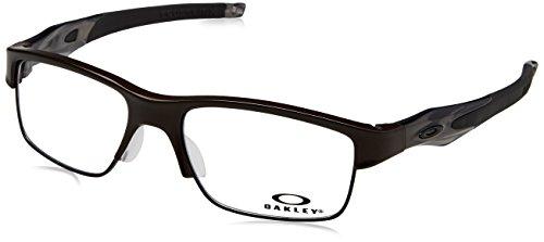Oakley OX3128-02 Crosslink Switch Eyeglasses-Pewter/Gray - Glasses Oakley Crosslink