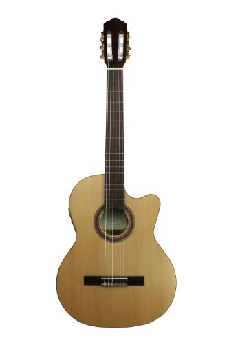 Kremona Performer Series Rondo TL Thin Body Cutaway/Electric Nylon String Guitar