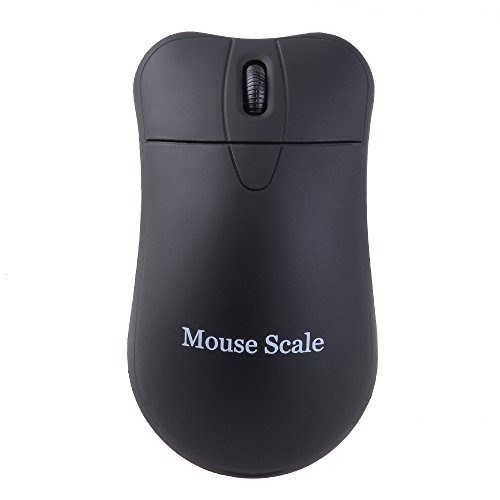 AGPtek® 200g By 0.01g Optical Digital Wireless Integrated Scale Mouse with g/ct/oz/tl/gn Precision Accurate to 0.01g/0.001oz/0.05ct/0.1gn (Black)