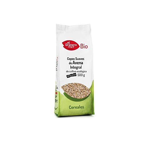 Copos Suaves de Avena Integral Sin Gluten Bio, 500 g El ...