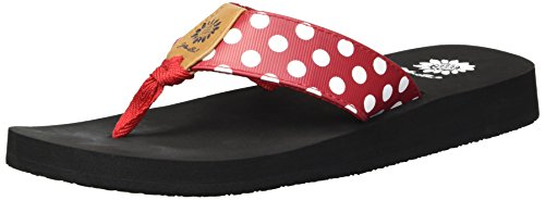 Yellow Flip Women's Red Flop Zadie Box RZRqaTr