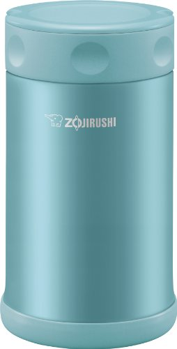 Zojirushi Stainless Steel Food Jar 25 oz. / 0.75 Liter, Aqua Blue